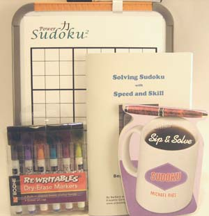 Power Sudoku2 Deluxe White Board Kit - Click Image to Close